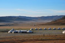 Free Mongolian Yurt Stock Photography - 18699002