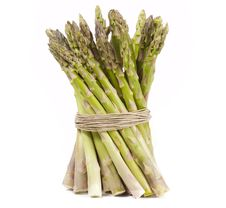 Free Asparagus Wrapped In Hemp Royalty Free Stock Photos - 18699068