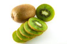 Free Kiwi Fruit Slice Royalty Free Stock Images - 18699259