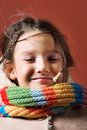 Free Child With Coat And Scarf Royalty Free Stock Images - 1871089