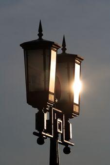 Free Street Lamp Royalty Free Stock Photos - 1872908