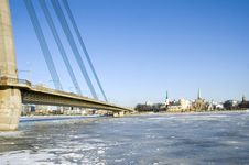 Free Kind On Riga In Winter Royalty Free Stock Images - 1872999
