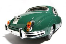 1959 Jaguar Mark 2 Metal Scale Toy Car Fisheye 3 Stock Photos