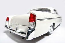1956 Chrysler 300B Metal Scale Toy Car Fisheye 2 Royalty Free Stock Images