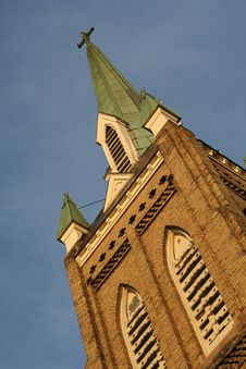 Free Old Church Tower Stock Image - 1874131