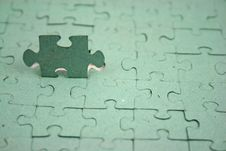 Free Jigsaw1 Shallow DOF Royalty Free Stock Photo - 1874765