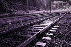 Free Empty Railroad Stock Images - 1874834