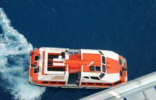 Free Lifeboat On Large Ocean Liner Royalty Free Stock Photos - 1875238