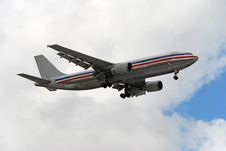 Free Airbus A-300 Passenger Jet Royalty Free Stock Photo - 1875575