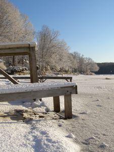 Free Frozen Lake Royalty Free Stock Image - 1876016