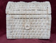 Free Corn-husk Basket Royalty Free Stock Photos - 1876148
