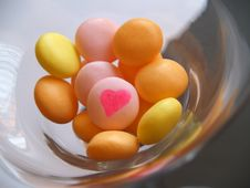 Free Love Sweets In A Glass Royalty Free Stock Photo - 1876595