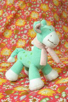 Soft Toy Giraffe Royalty Free Stock Photography