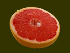 Red Grapefruit Stock Image