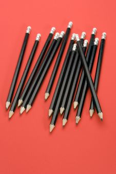 Free Black Pencils Royalty Free Stock Photo - 1878915