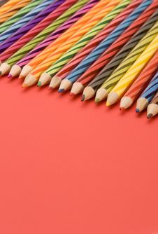 Free Coloured Pencils Royalty Free Stock Photography - 1878947