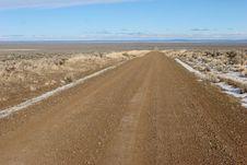 Free Desert Road Stock Image - 1879221