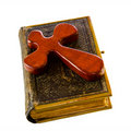 Free Bible And Cross Stock Photos - 18700413