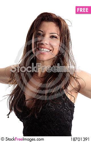 Free Vivacious Carefree Beauty Stock Image - 18701391