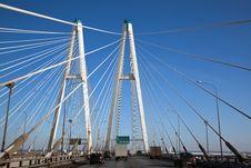 Free A Modern Highway Bridge Royalty Free Stock Photography - 18700037