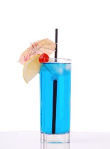 Free Blue Cocktail Stock Images - 18700254