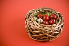 Free Easter Eggs Stock Image - 18700611