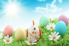 Free Happy Easter Royalty Free Stock Photography - 18700887
