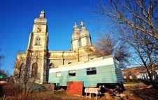 Romanian Monastery Royalty Free Stock Photography