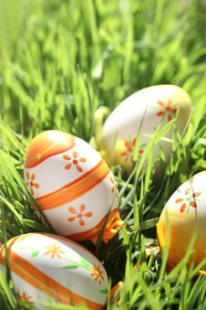 Free Easter Eggs Royalty Free Stock Image - 18700916