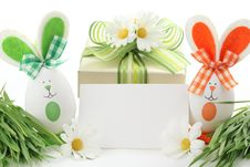 Easter Gift Stock Photo