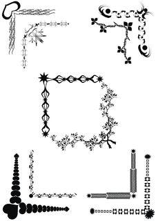 Free Vintage Elements For Design. Stock Images - 18701274
