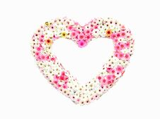 Free Flower Heart Royalty Free Stock Photography - 18702197