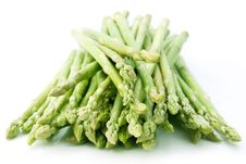 Sheaf Of Asparagus Stock Photography