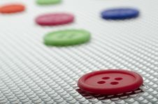 Free Buttons Royalty Free Stock Photography - 18703507