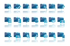 Free Folder Icons Royalty Free Stock Image - 18703696