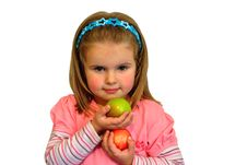 Free Children Love Fruit Stock Images - 18704394