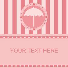 Free Cute Umbrella Frame Stock Photo - 18704670