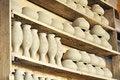 Free Drying Ceramic Vase Royalty Free Stock Photography - 18710987
