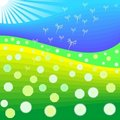 Free Vector Dandelions Blooming Stock Photos - 18715383