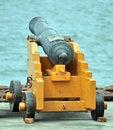 Free Old Naval Gun Stock Images - 18717234