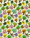 Free Seamless Tree Pattern Stock Photo - 18718160
