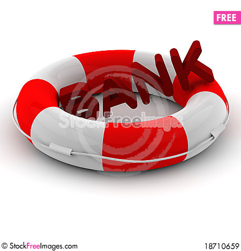 Free Life Buoy Royalty Free Stock Images - 18710659
