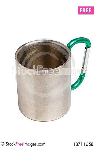 Free Camping Mug Royalty Free Stock Photos - 18711658