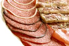Meat Products Assortment Royalty Free Stock Photo