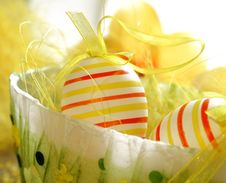 Free Easter Eggs Stock Images - 18710554