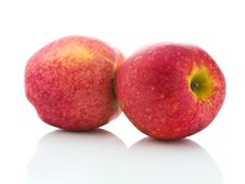 Free Two Apples Royalty Free Stock Image - 18713106