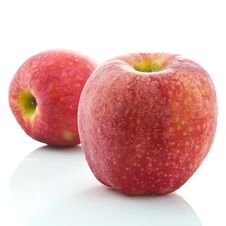 Free Two Apples Royalty Free Stock Images - 18713119