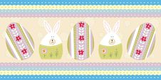 Free Blue Easter Card Stock Images - 18713314