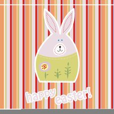 Free Easter Card Royalty Free Stock Photography - 18713447