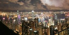 Free Hong Kong Skyline Stock Photo - 18713550